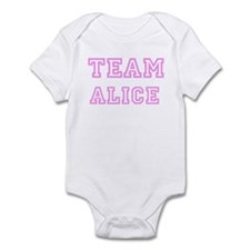 Pink team Alice Infant Bodysuit