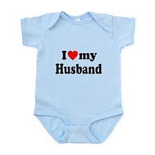 I Heart My Husband Infant Bodysuit