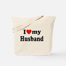I Heart My Husband Tote Bag