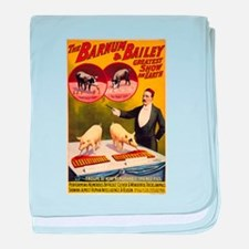 barnum and bailey baby blanket