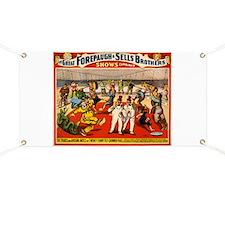 circus ad Banner