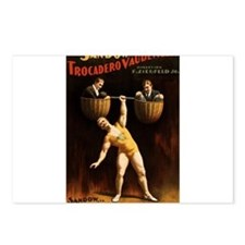 strongman Postcards (Package of 8)