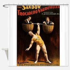 strongman Shower Curtain