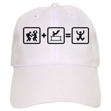 Gymnastic Parallel Bars Baseball Cap
