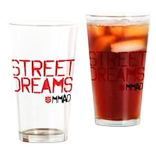 Street Dreams Shirt Drinking Glass