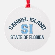 Sanibel Island - Varsity Design. Ornament