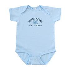 Sanibel Island - Varsity Design. Infant Bodysuit