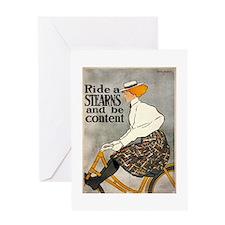 bicycle ad Greeting Card