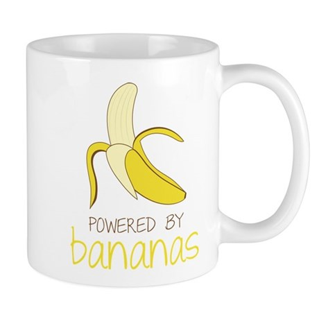 Powered By Bananas Mug