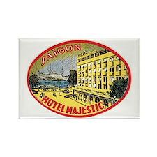Hotel Majestic Saigon Rectangle Magnet