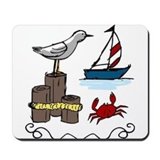 Nautical Scene Mousepad
