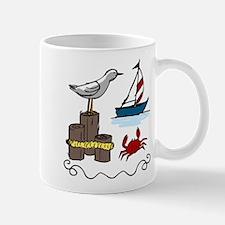 Nautical Scene Small Small Mug