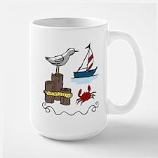 Nautical Scene Mug