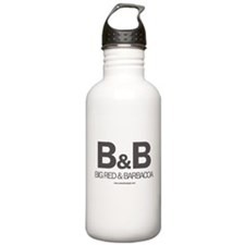 Big Red and Barbacoa White Water Bottle