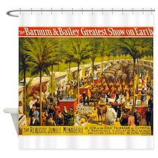 barnum and bailey Shower Curtain