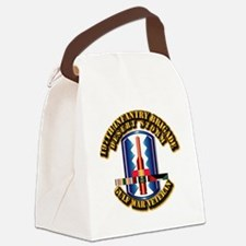 Army - DS - 197th IN Bde Canvas Lunch Bag