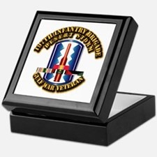 Army - DS - 197th IN Bde Keepsake Box