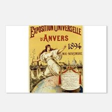 french poster Postcards (Package of 8)