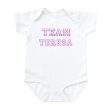 Pink team Teresa Infant Bodysuit