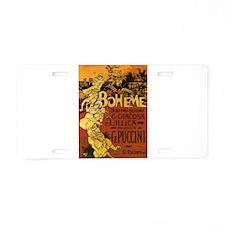 playbill Aluminum License Plate