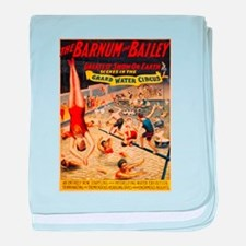 barnum and bailey circus baby blanket