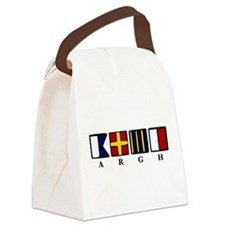 argh!.png Canvas Lunch Bag
