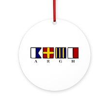 ARGH Ornament (Round)