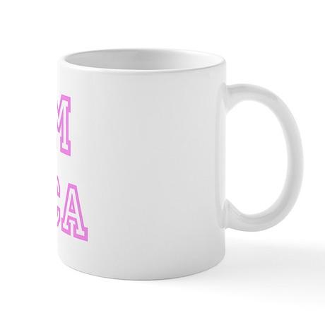 Pink team Jessica Mug
