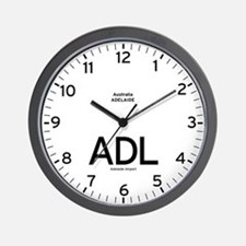 Adelaide ADL Airport Newsroom Wall Clock