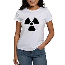 Radiation Warning Symbol Tee