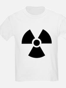 Radiation Warning Symbol T-Shirt