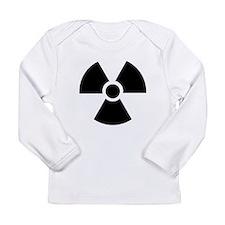 Radiation Warning Symbol Long Sleeve Infant T-Shir