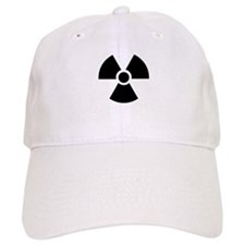 Radiation Warning Symbol Baseball Cap