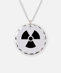 Radiation Warning Symbol Necklace