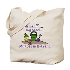In The Sand Tote Bag
