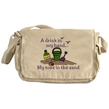 In The Sand Messenger Bag