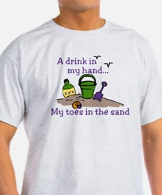In The Sand T-Shirt