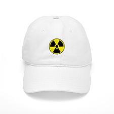 Radiation Warning Symbol Baseball Cap