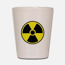 Radiation Warning Symbol Shot Glass