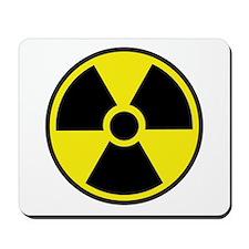 Radiation Warning Symbol Mousepad