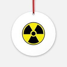 Radiation Warning Symbol Ornament (Round)