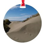 Pacific Dune Scene Round Ornament