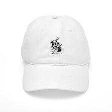 white_rabbit.jpg Baseball Cap