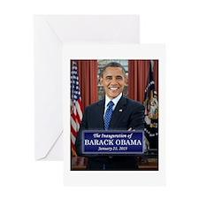 Barack Obama 2013 Presidential Inauguration Greeti