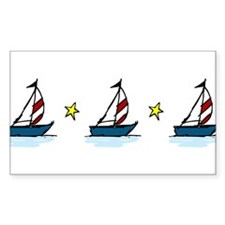 Sailboats Decal