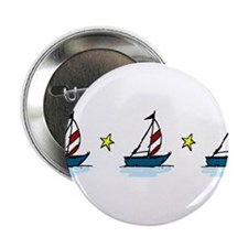 "Sailboats 2.25"" Button"