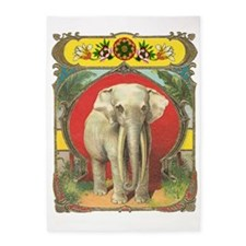 White Elephant 5'x7'Area Rug