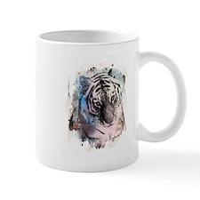 Pastel Painted Tiger Mug