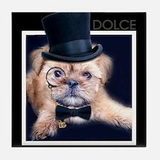 Dolce Dog Tile Coaster