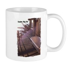 Esalen tub on room deck Mug